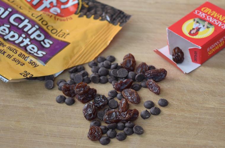 chocolate-raisins